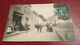 CPA Rare Pionsat Rue De L'église - Francia
