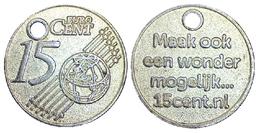 05219 GETTONE TOKEN JETON NETHERLANDS PRE EURO CARRELLO SPESA 15 CENT EURO - Unclassified