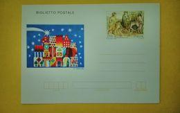 1982 ITALIA BIGLIETTO POSTALE NUOVO MNH** NATALE - Interi Postali