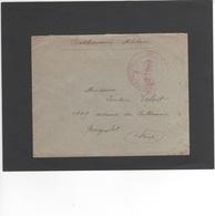 LSC 1916 - Cachet 52 èm Réfiment Territorial  ...?? - Au Dos Cachet Bagnolet (Seine) - Marcophilie (Lettres)