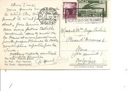 Italie ( CP De 1948 De Firenze Vers La Belgique à Voir) - 6. 1946-.. Republic