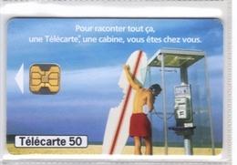 Carta Telefonica Francia - Pour Raconter Tout - 7.98  -  Carte Telefoniche@Scheda@Schede@Phonecards@Telecarte@Telefonkar - 1998