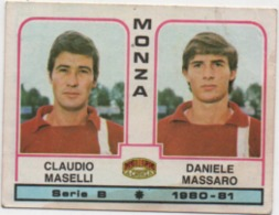 Figurina Calciatori Panini 1980-81 N. 436: Claudio Maselli E Daniele Massaro (Monza) - Cromo