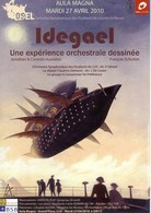 "SCHUITEN - Feuillet Promo ""Idegael"" - Livres, BD, Revues"