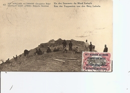 Ruanda-Urundi  -Mont Lubafu ( EP De 1918 à Voir) - Ruanda-Urundi