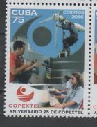 COMPANIES, 2016, MNH, COPEXTEL, TELECOMMUNICATIONS, COMPUTERS, 1v - Stamps