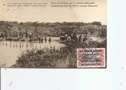 Ruanda-Urundi  - Pont Sur La Luvone ( EP De 1918 à Voir) - Ruanda-Urundi