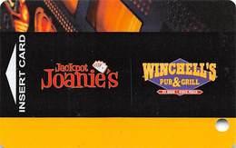 Jackpot Joanie's / Winchell's Pub & Grill - Las Vegas, NV - BLANK Casino Slot Card - Casino Cards