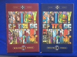 """DC Comics, """"History Of The Universe , Book One & Book Two"""", Wolfman & Perez - DC"""