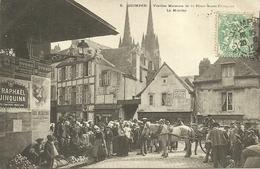 QUIMPER  -- Vieilles Maisons De La Place Saint-François - Le Marché                                       -- Villard 5 - Quimper