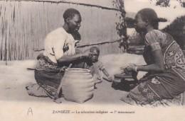 Africa Zambesi Zambezi La salutation indigene l'mouvement