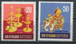 °°° SRI LANKA - YT 489/91 - MI 471/73 - 1977 MNH °°° - Sri Lanka (Ceylon) (1948-...)
