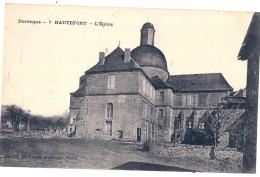 ***  24  ***    HAUTEFORT L'église écrite TTB - Frankreich