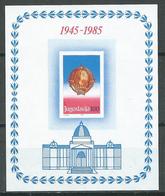 Yougoslavie Bloc-feuillet YT N°26 Proclamation De La République Neuf ** - Blocs-feuillets