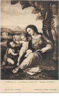 Musée De Peinture D'orleans Rphael La Madone Au Chêne ( Unique Sur Delcampe) - Peintures & Tableaux