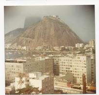 Photograph(9x9cm) Rio De Janeiro * Urca * Pão De Açucar Tapado Por Neblina * Brazil - Places