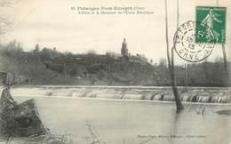 """CPA FRANCE 61 """"Putanges Pont Ecrépin, Le Déversoir"""" - Putanges"""