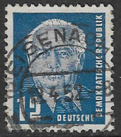 East Germany SG E10 1950 Definitive 12pf Good/fine Used [38/31361/9D] - [6] Democratic Republic