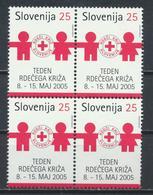 °°° SLOVENIA - YT B35 - MI Z38 - 2005 MNH °°° - Slovenia