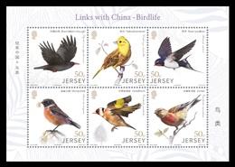Jersey 2018 Mih. 2244/49 (Bl.176) Fauna. Birds MNH ** - Jersey