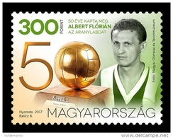 Hungary 2017 Mih. 5930 Football Player Florian Albert MNH ** - Unused Stamps