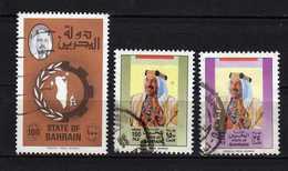 Barhein Scott N°232.342.346..oblitérés - Bahreïn (1965-...)