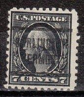 USA Precancel Vorausentwertung Preo, Locals Vermont, Burlington 205, Perf. 10x10, Perf. Not Perfect, Better Stamp - Vereinigte Staaten