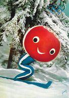 Shuss, Personnage Officiel, Mascotte Des Xe Jeux Olympique D'hiver à Grenoble 1968 (création Aline Lafarge) - Olympic Games