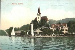 11309087 Maria Woerth Woerthersee Kirche Steg Maria Woerth - Österreich