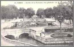 # CPA # NIMES - JARDIN DE LA FONTAINE - Nîmes