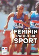 Athlétisme Féminin L'Atout Du Sport - Relais 4x100 Championnats Du Monde Juniors 2000 (Adrianna Lamalle?) - Atletismo