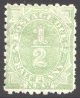 POSTAGE DUE  ½d. SG D1  MM - Mint Stamps