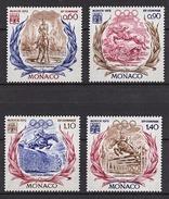 MONACO 1972 - SERIE 4 TP  N° 890 A 893  - NEUFS ** - Monaco
