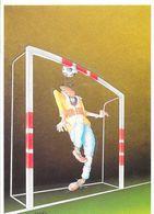 Humour, Illustration De Heneuy: Hand-ball, Gardien De But - Humour