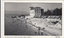 AK - Griechenland - EDIPSOS - Insel EUBÖA - Strandansicht Mit Hotel 1961 - Griechenland