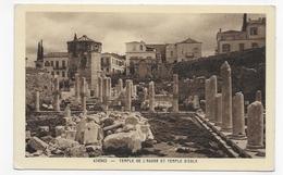 ATHENES - TEMPLE DE L' AGORA ET TEMPLE D' EOLE - CPA NON VOYAGEE - Grecia