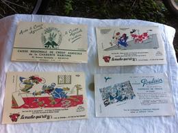 Attention Je Ne Vends Que Le Buvard Pub Credit Agricole - Buvards, Protège-cahiers Illustrés