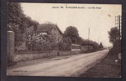 CPA 95 - BOISSY-l'AILLERIE - La Côte D'Azur - TB PLAN Chemin Ou Route Avec Jolie Vue Sur Maioson Ou Pavillon - Boissy-l'Aillerie