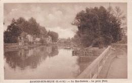 Cpa Dept 77 - Samois-sur-seine - Le Bas Samois - Le Petit Pont - Samois