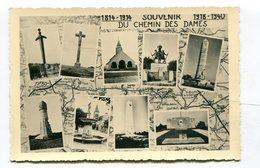 CPA  02 : Souvenir Du Chemin Des Dames, Les Monuments      A  VOIR   !!!! - Autres Communes