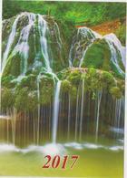 2017 - ROMANIAN  - 4 X Small Calendars - Landscape From Romania - ( 7x10 Cm) -5 Scans - Calendarios
