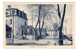 11 AUDE - COURSAN Avenue De La Gare - Francia