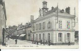 23 - MONTEREAU - L'HOTEL DES POSTES ( Animées ) - Montereau