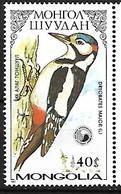 Mongolia 1987 - MNH - Great Spotted Woodpecker (Dendrocopos Major - Spechten En Klimvogels