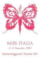 [MD1004] CPM - IN RILIEVO - SALSOMAGGIORE (PARMA) - MISS ITALIA - BERTOLETTI - NV 1993 - Parma