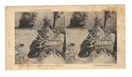 """Guerre 14/18 - Photo Stéréoscopique """"Autour De Malines / Mechelen, Troupes Belges Dans Les Tranchées (fr66) - 1914-18"""