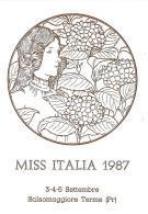 [MD1009] CPM - IN RILIEVO - SALSOMAGGIORE TERME (PARMA) - MISS ITALIA - BERTOLETTI - NV 1987 - Parma