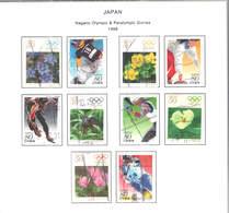 Giappone PO 1998 Nagano Olimpics    Scott.2607 A/f ++See Scan On Sott.page; - 1989-... Imperatore Akihito (Periodo Heisei)