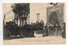- CPA CATASTROPHE DU CUIRASSE LIBERTE - Funérailles Des Victimes - Arsenal Maritime - Les Cercueils - - Funerales