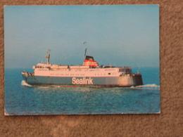 SEALINK AILSA PRINCESS - DIXON CARD - Ferries